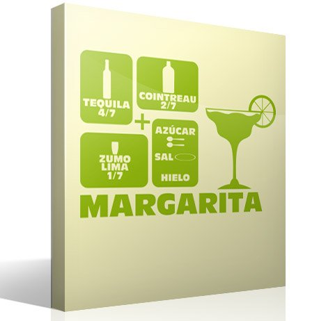 Wall Stickers: Cocktail Margarita