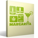 Wall Stickers: Cocktail Margarita 3