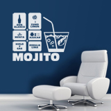 Wall Stickers: Cocktail Mojito 4