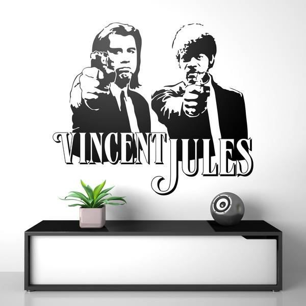 Wall Stickers: Vincent & Jules