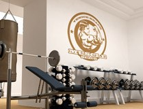 Wall Stickers: Arnold Muscle 3
