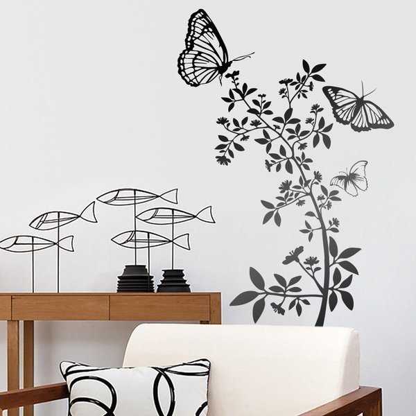 Wall Stickers: Floral Atzureus