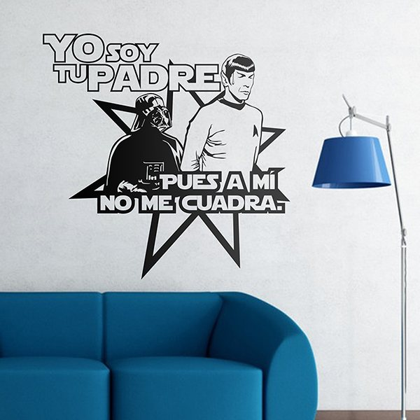 Wall Stickers: Star Wars-Trek