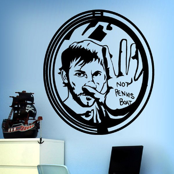 Wall Stickers: Charlie: not pennys boat