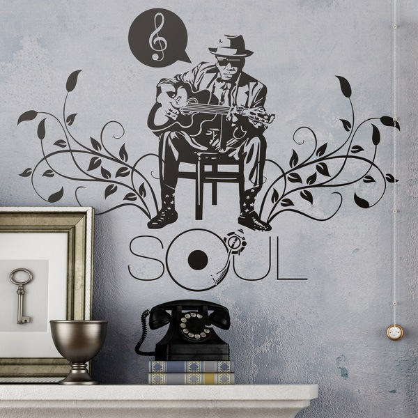 Wall Stickers: Soul, John Lee Hooker