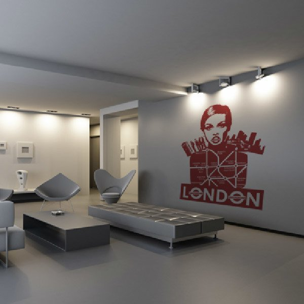 Wall Stickers: London