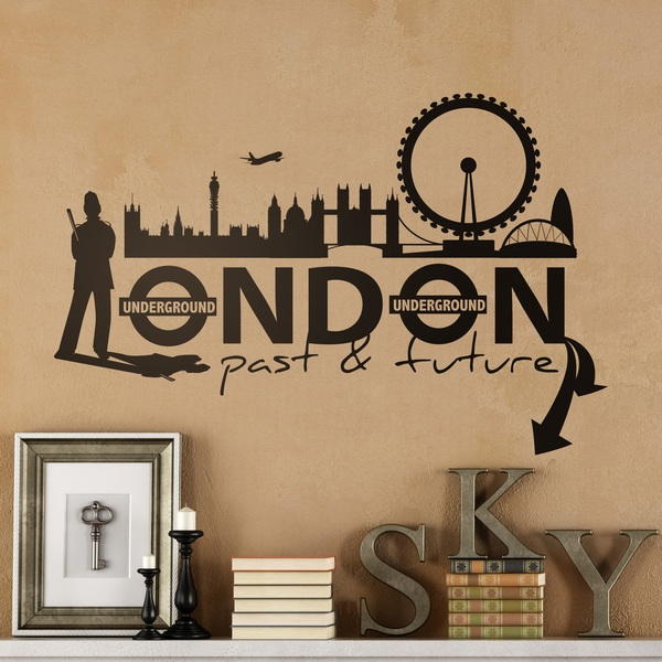 Wall Stickers: London City