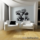 Wall Stickers: Pin Up Girl 2