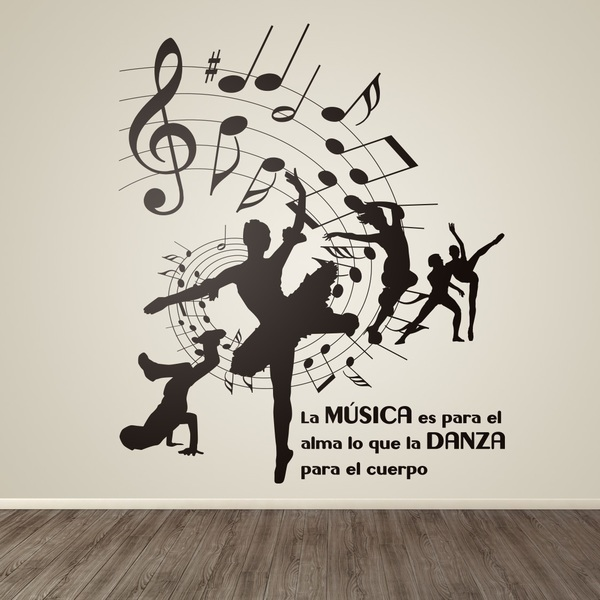 Wall Stickers: Music and dance