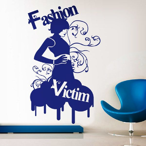 Wall Stickers: Fashion Victim