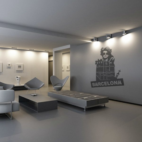 Wall Stickers: Barcelona