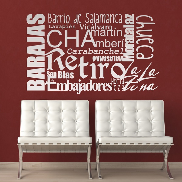 Wall Stickers: Madrid Me Mata