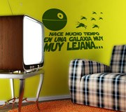 Wall Stickers: Faraway Galaxy 3