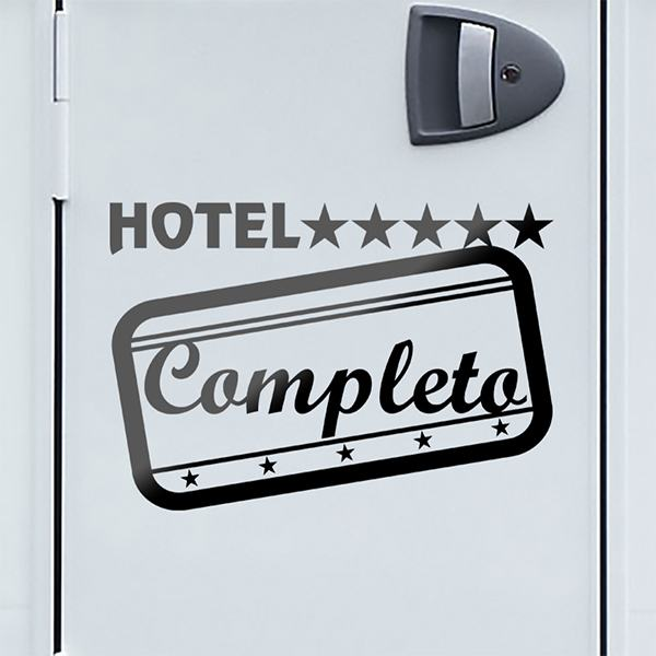 Car & Motorbike Stickers: Hotel Completo 01
