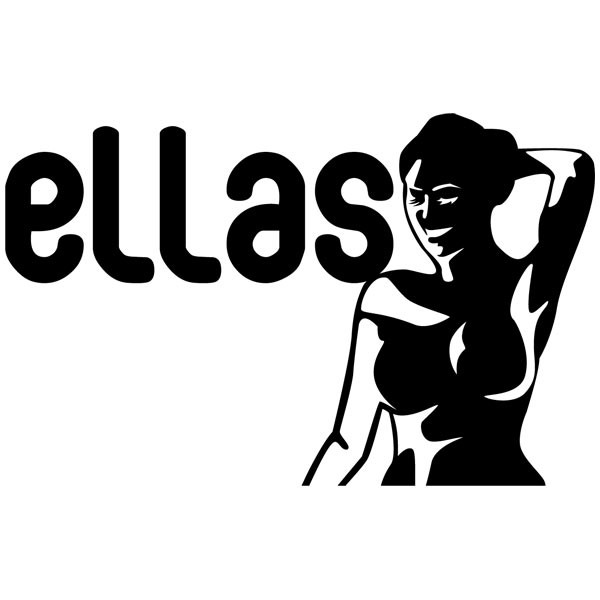 Wall Stickers: WC Ellas