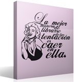 Wall Stickers: Monroe Tentation 5