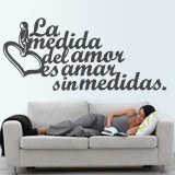 Wall Stickers: Amar sin medidas 2