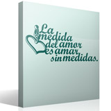 Wall Stickers: Amar sin medidas 4