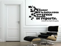Wall Stickers: Amor Crece Exupery 4