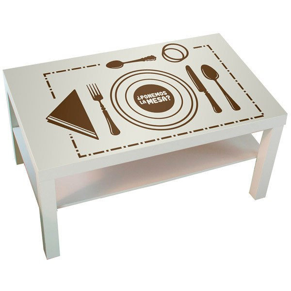 Wall Stickers: Lay the table