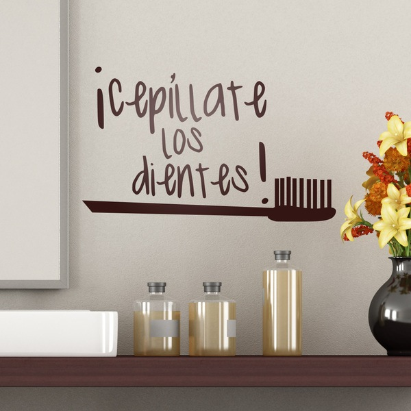 Wall Stickers: Cepillate los Dientes