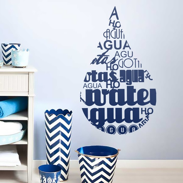 Wall Stickers: Water Drop