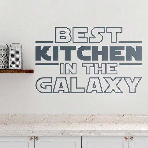 Wall Stickers: The Best Kitchen in the Galaxy