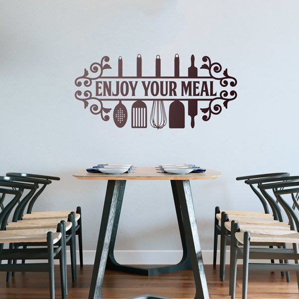 Wall Stickers: Bon Appetit