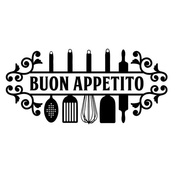 Wall Stickers Bon Appetit In Italian