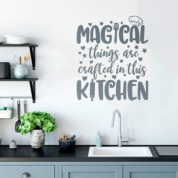 Wall Stickers: Magic Kitchen