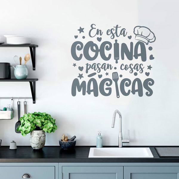 Wall Stickers: Magic Kitchen in Spanish