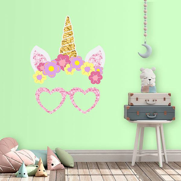 Wall Stickers: Unicorn headband
