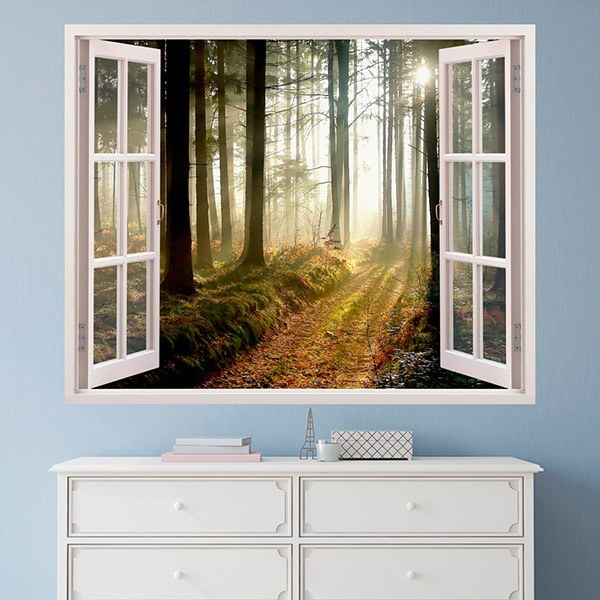 Wall Stickers: Trees in the forest