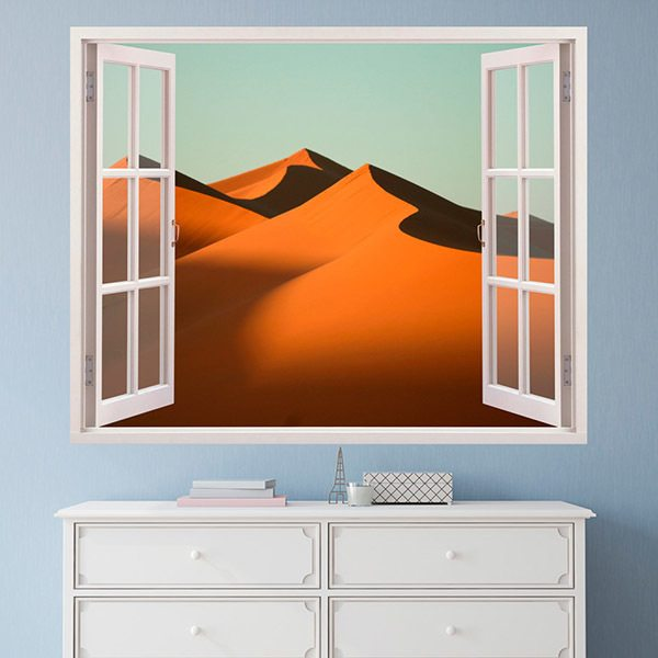 Wall Stickers: Dunes in the desert
