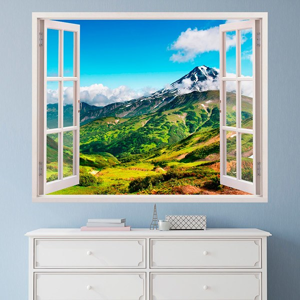 Wall Stickers: Mountains and valleys