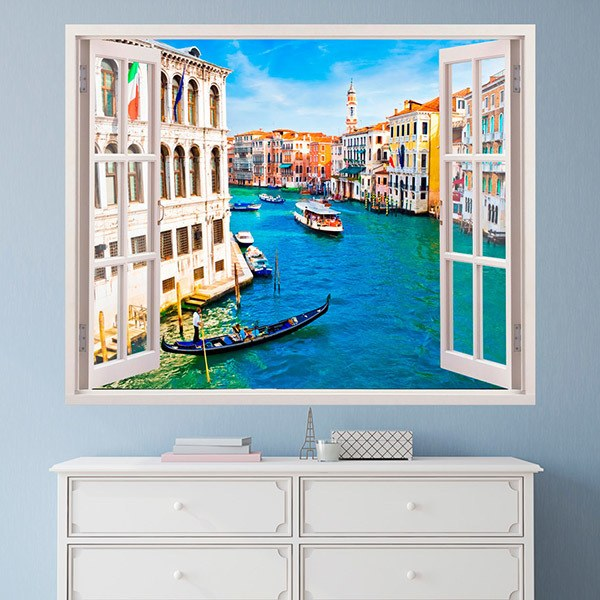 Wall Stickers: Venice