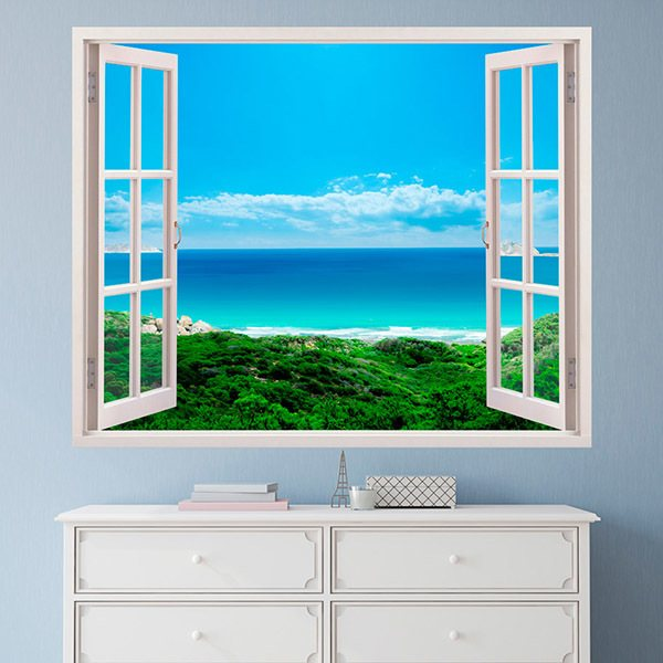 Wall Stickers: Sea views