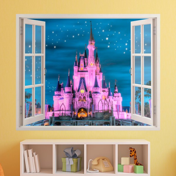 Stickers for Kids: Window Castle of Disney