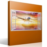 Wall Stickers: Commercial aircraft in the Caribbean 4