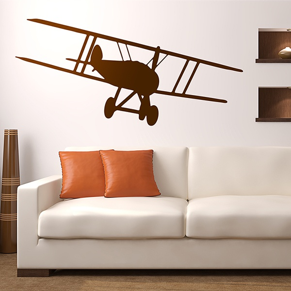 Wall Stickers: Light aircraft