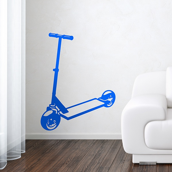 Wall Stickers: Stunt Scooter