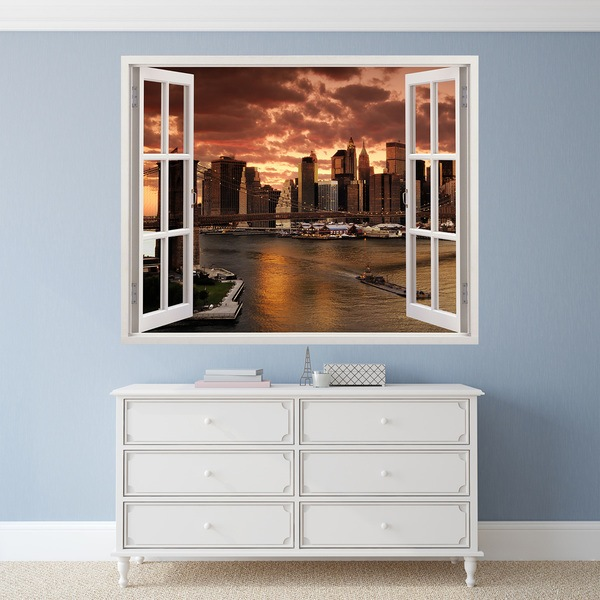 Wall Stickers: Manhattanhenge