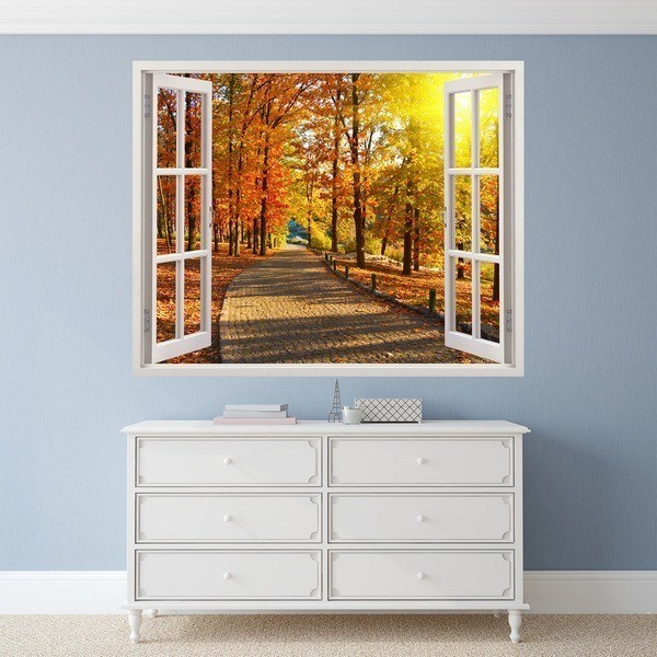 Wall Stickers: Autumn in the park 1