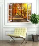 Wall Stickers: Autumn in the park 3