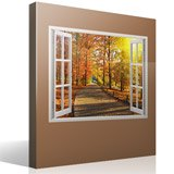 Wall Stickers: Autumn in the park 4