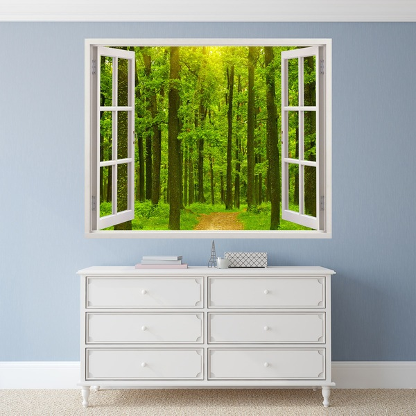 Wall Stickers: Fir Forest
