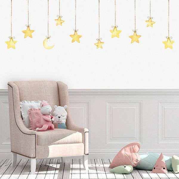 Stickers for Kids: Hanging Stars