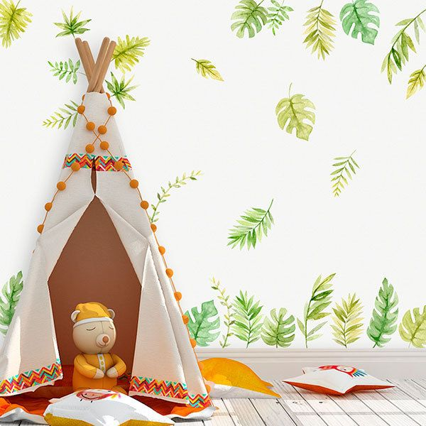 Stickers for Kids: Forest Leaves Kit