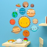 Stickers for Kids: Space Planets Kit 3