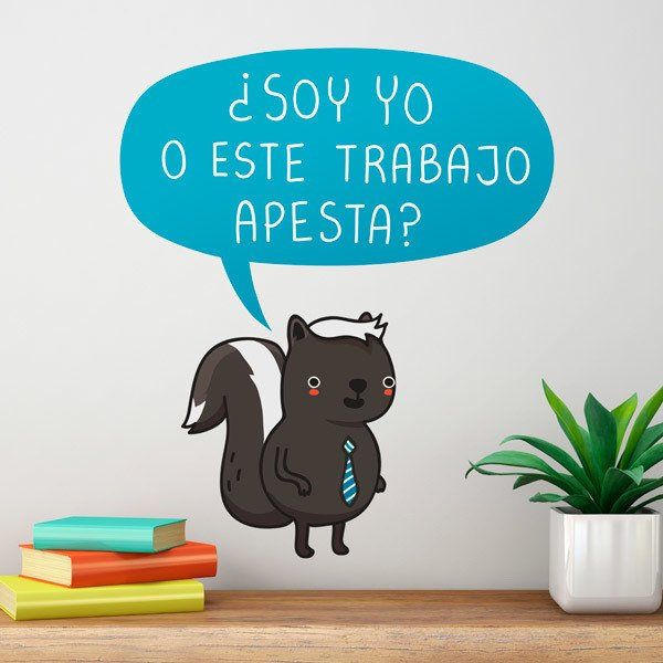 Stickers for Kids: ¿Soy yo o este trabajo apesta?